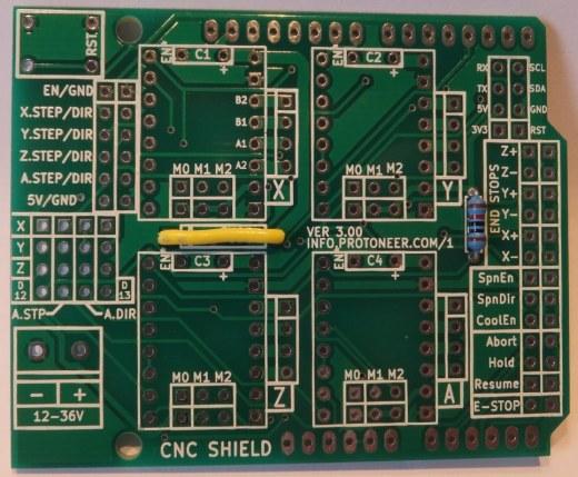 Arduino CNC Shield V3 XX – Assembly Guide | Protoneer co nz